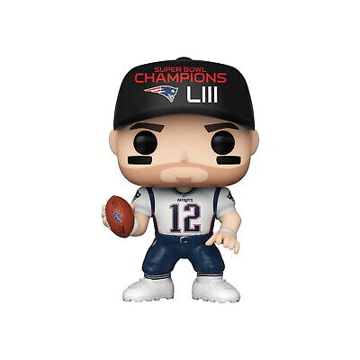 Pop! Football #137 Tom Brady  SB LIII Champs Vinyl Figure New England  Patriots