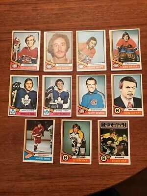 1974-75 O-PEE-CHEE Hockey CARD SET