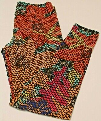 LuLaRoe Women's Leggings Multi Color Size TC2 New