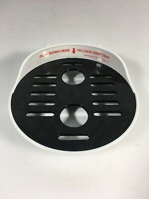 Used Baby Brezza Formula Pro 2 Piece Drip Tray & Bottle Grate Replacement (B)