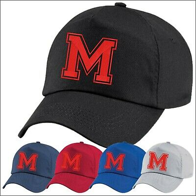 Letter M Design Baseball Cap Casual Wear Sports Cool New Stylish Embroidered Hat