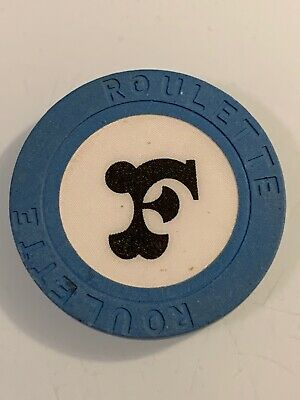 FRONTIER ROULETTE Casino Chip Las Vegas Nevada 3.99 Shipping