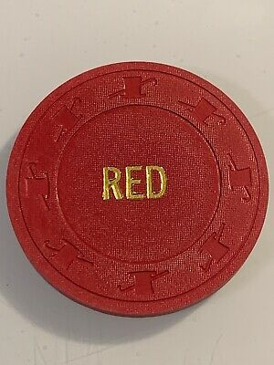 COLOR LABELED BLANK NCV Casino Chip Las Vegas Nevada 3.99 Shipping