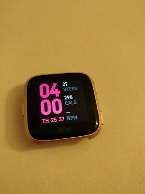 Fitbit Versa Pebble - Rose Gold - Pebble ONLY - No Heart Rate Monitor - VGC