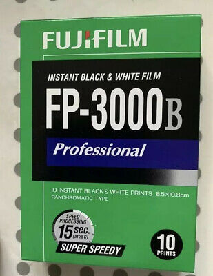 Fuji FP-3000b Expired April 2014 Polaroid Peel Apart Pack Film