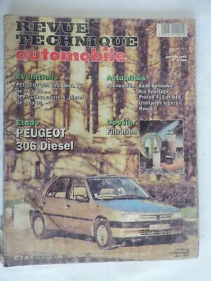 PEUGEOT 306 diesel (309 OPEL Corsa) - Revue Technique Automobile