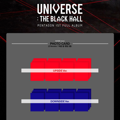 PENTAGON UNIVERSE : THE BLACK HALL 1st Full [Photocard] Upside VER.
