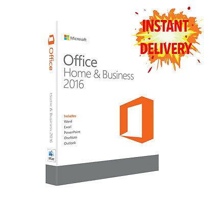 Microsoft Office 2016 for Mac+Instant Delivery+Lifetime License