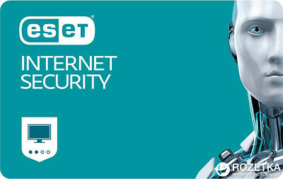 ESET NOD32 Internet Security 2020 -1 PC, 6 months (License Key)
