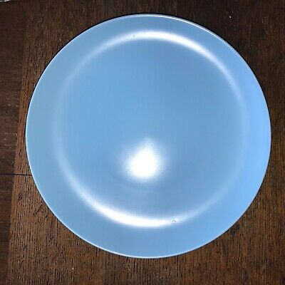 Poole Pottery TwinTone Sky Blue Dinner Plate 25.2cm diameter Postage £3.10 for 2