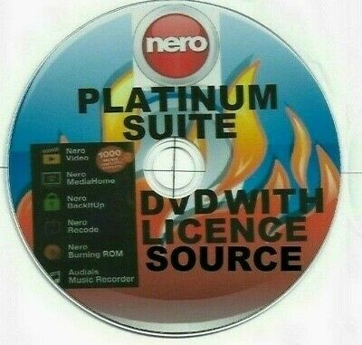 Nero Platinum Suite✔ Posted Dvd✔ Lifetime Licence✔ All Windows✔  2019/2020✔