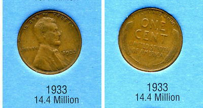 #0120 Circulated Copper Coin Fill Your Book 1919 D Lincoln Wheat Penny