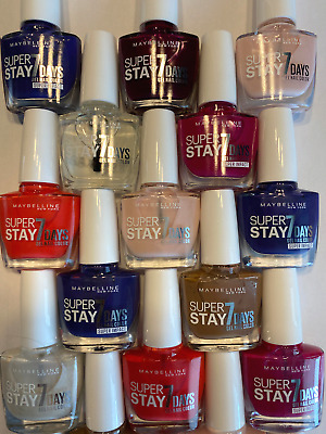 MAYBELLINE Forever Strong Superstay 7Day GEL NAIL COLOUR - CHOOSE  SHADE