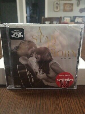 A Star Is Born Soundtrack Audio, CD NEW Lady GaGa/Cooper Explicit