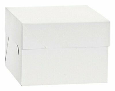 Decorate 0339485 Box for Pastries, Cardboard, White