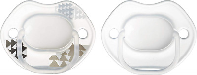 Tommee Tippee Urban Style Soother, 0 to 6 Months, Pack of 2