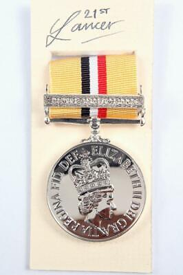 BRITISH MEDAL RIBBON IRAQ OP TELIC 6 INCHES 15cm