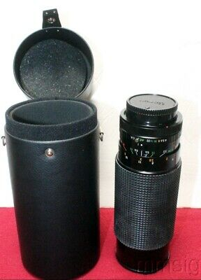 Cannon Camera Lens Auto Zoom Multicoated 1:40 5.6 F=60-300mm
