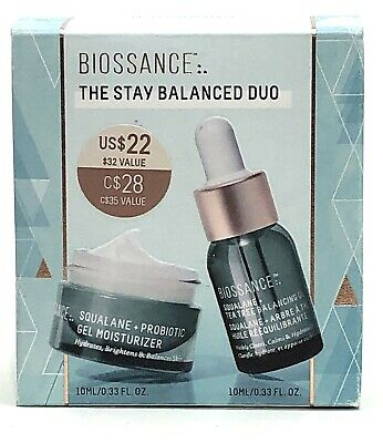 Biossance The Stay Balanced Duo - Keep Skin Hydrated/Reduce imperfections