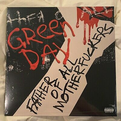Green Day - FATHER OF ALL... LIMITED EDITION EXPLICIT COVER RED/BLACK VINYL LP