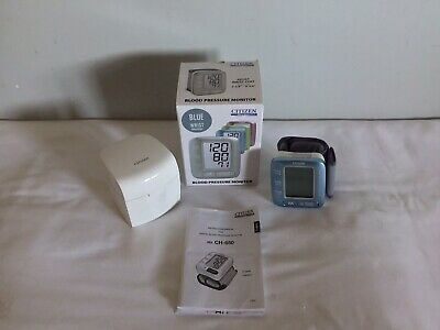 Citizen Ch650F Blood Pressure Meter (Wrist) Japan Mail Shipping