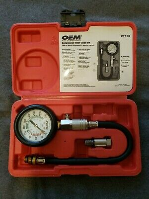 OEM Tools 27138 Compression Tester Gauge Set
