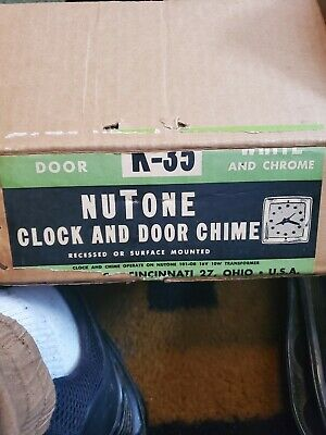 Nutone Clock And Door Chime