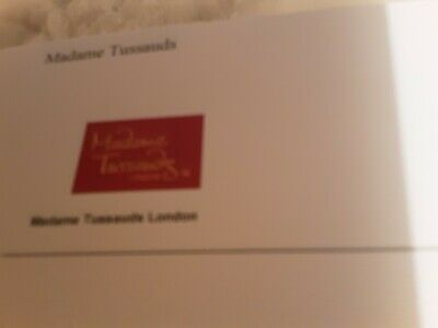 2 X Madame Tussaud's London Tickets. 24 March 2020 at 11.15