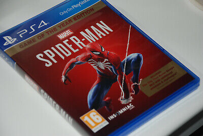 Marvels Spider-Man Game Of The Year Edition PS4 Excellent