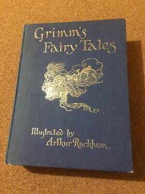 3rd Printing Grimm's Fairy Tales illustrated by Arthur Rackham 1998