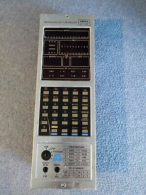 (Used) OMRON SCY-POR SCYPOR-CPU108 PROGRAMMABLE CONTROLLER*TESTED*CLEAN*