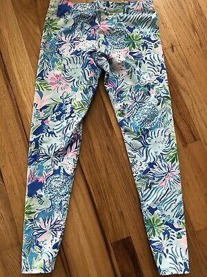 Lilly Pulitzer Girls Leggings  XL 12/14 Preowned