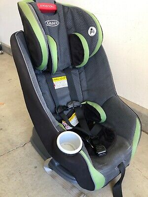 Graco Nautilus 65 3-in-1 Multi-Use Harness Booster Car Seat Bravo Green And gray