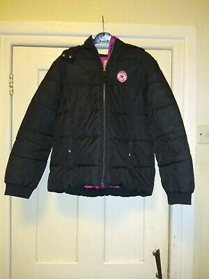 Girls Converse All Star Black Jacket Age 13-15
