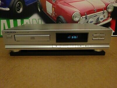 Wharfedale Wcd-3038 Compact Disc Player Hifi Cd Player In Silver Working