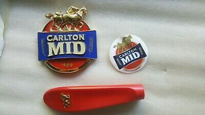 Carlton Mid Tap Badge And Handle Set
