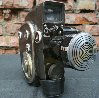Film Movie Camera Zoom Quarz 60's Vintage Retro USSR Soviet Amateur