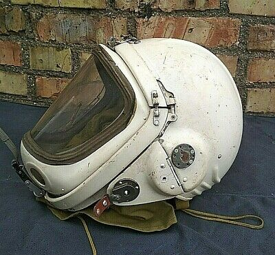 Pilot Flying Helmet GSH 4 MS Aviator USSR Original