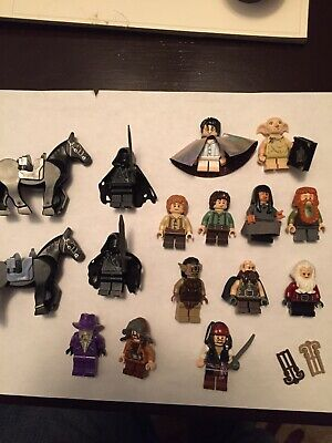 Lego Harry Potter/Hobbit/Lord Of The Rings/POTC minifigures figurines lot