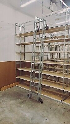 Cotterman Industrial Rolling ladder and track 7180