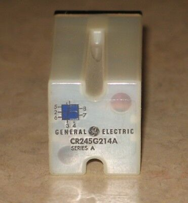GENERAL ELECTRIC CR245G214A Electric Relay