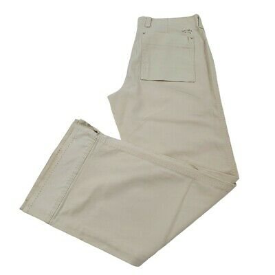 Horny Toad Capris 6 Tan Beige Outdoors Straight Leg Khakis Hiking Cropped