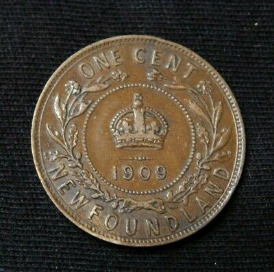 1909 Newfoundland One Cent - High Grade - Nice Coin!!!