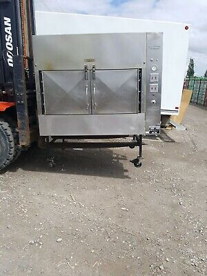Ole Hickory Pits Model EL-EW BBQ Smoker Commerical 2008 15 Racks 60 Sq Ft Cookin