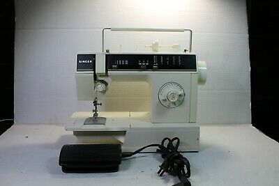 VTG Metal Heavy Duty Singer 6212C Sewing Machine with Foot Pedal TESTED