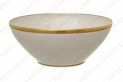 Saladier incrustations or par Chastanier. Salad bowl gold inlays by Chastanier