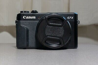 Canon PowerShot G7 X Mark II Camera With GOBE ND2 52MM Filter