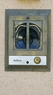 """Nutone IS-100 Speaker 6.5/"""" ST-1000 W// White Snap On Grille"""