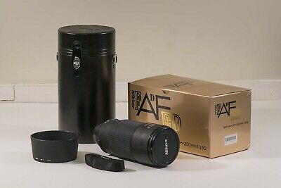 Nikon ED AF Nikkor 80-200mm 2.8D lens boxed with case - very good condition