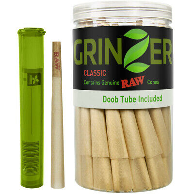 RAW Cones Natural Pre Rolled Classic - 100 Pack - King Size Cigarette...